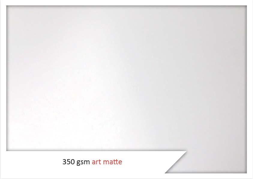 350 Gsm Art Matte