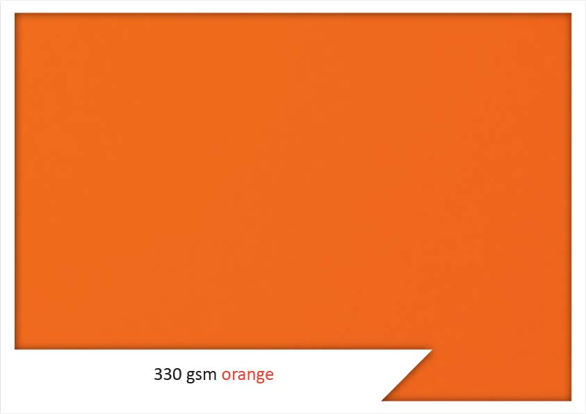 Orange Colour Card