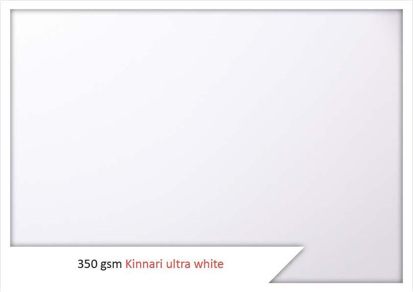 350 Gsm Kinnari Ultra White