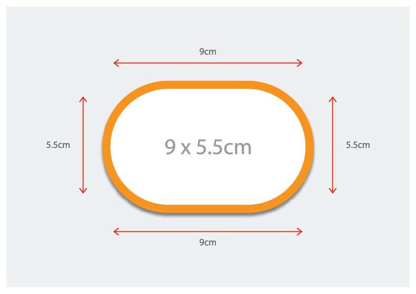 Oval Shaped