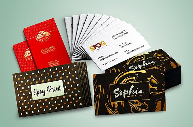 Business Card Printing Dubai Luxury