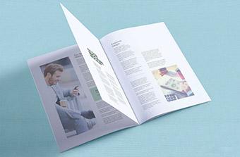Custom Sized Brochure