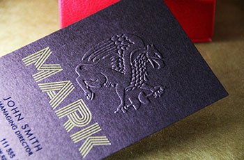 Embossed Business Cards #0004