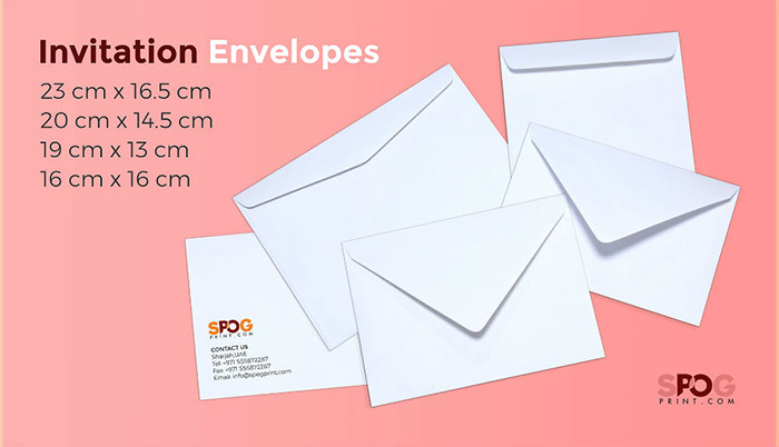 Invitation envelopes 1