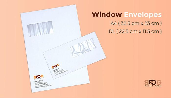 Window envelopes 1