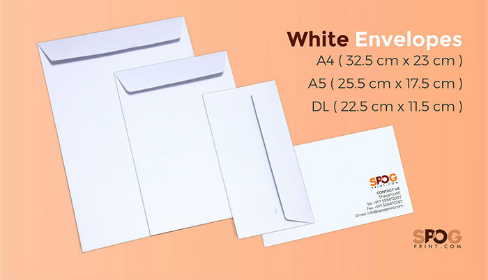White envelopes 1