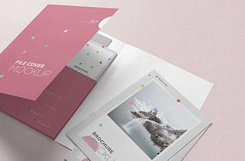One Side Pocket Folder