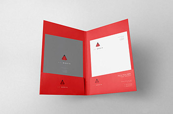 Two Side Pocket Folder