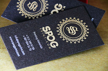 Foil Business Cards #0002