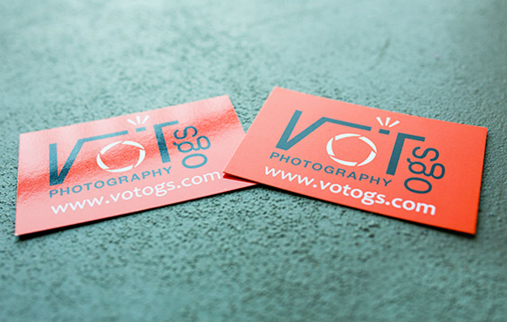 Glossy Laminated Business Cards 2