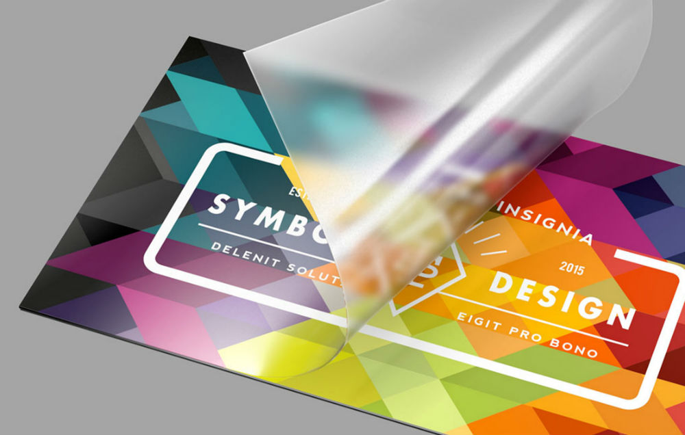 Glossy Laminated Business Cards 4