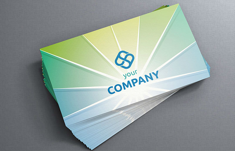 Soft Touch Laminated Business Cards 3