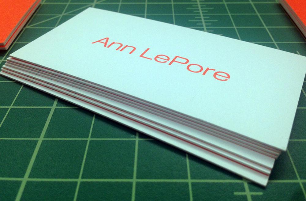 Thick Business Cards 2