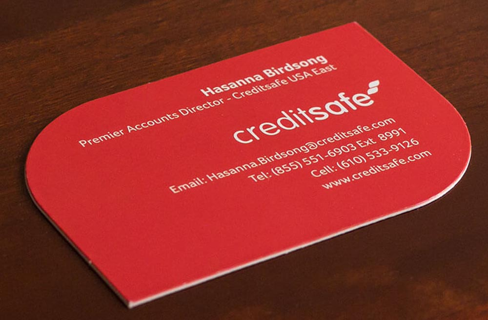 Thick Business Cards 4