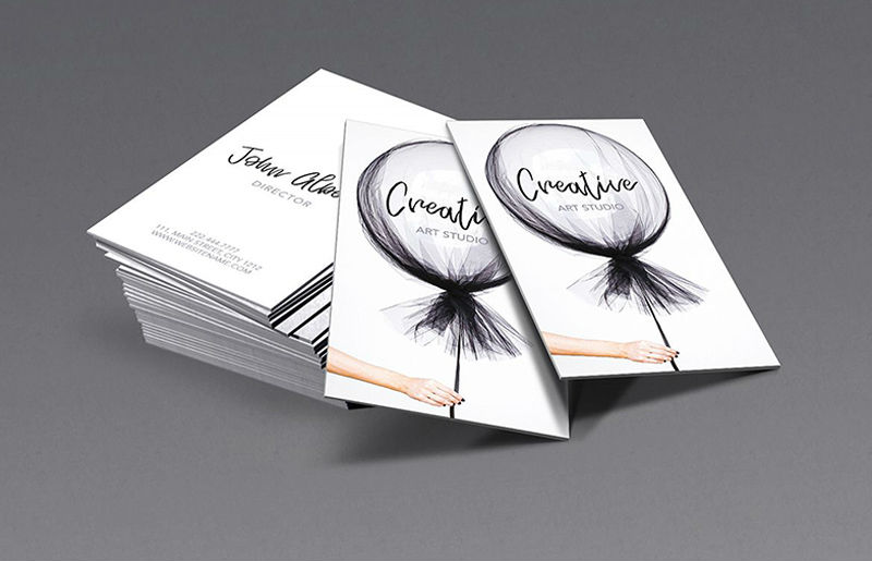 Uncoated Business Cards 4