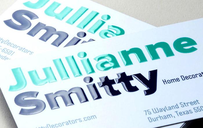3D Spot UV Business Cards #0002 1