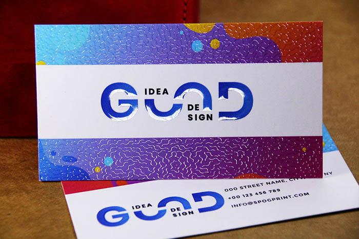 3D Spot UV Business Cards #0002 2