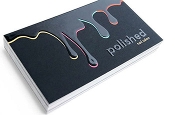 3D Spot UV Business Cards #0006